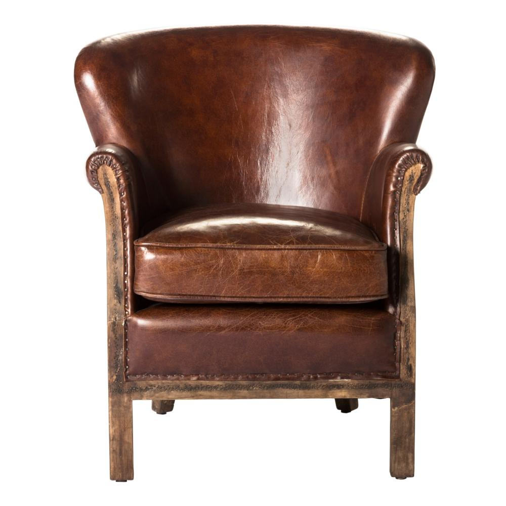 Abbey club chair brown more decor for Abanos furniture industries decoration llc