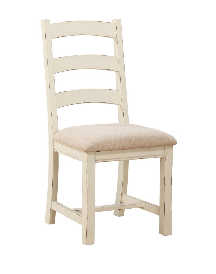 A La Carte Ladder Back Dining Chair Linen More Decor