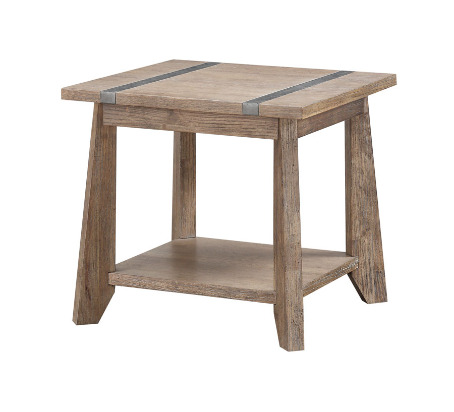 Viewpoint end table more decor for Abanos furniture industries decoration llc