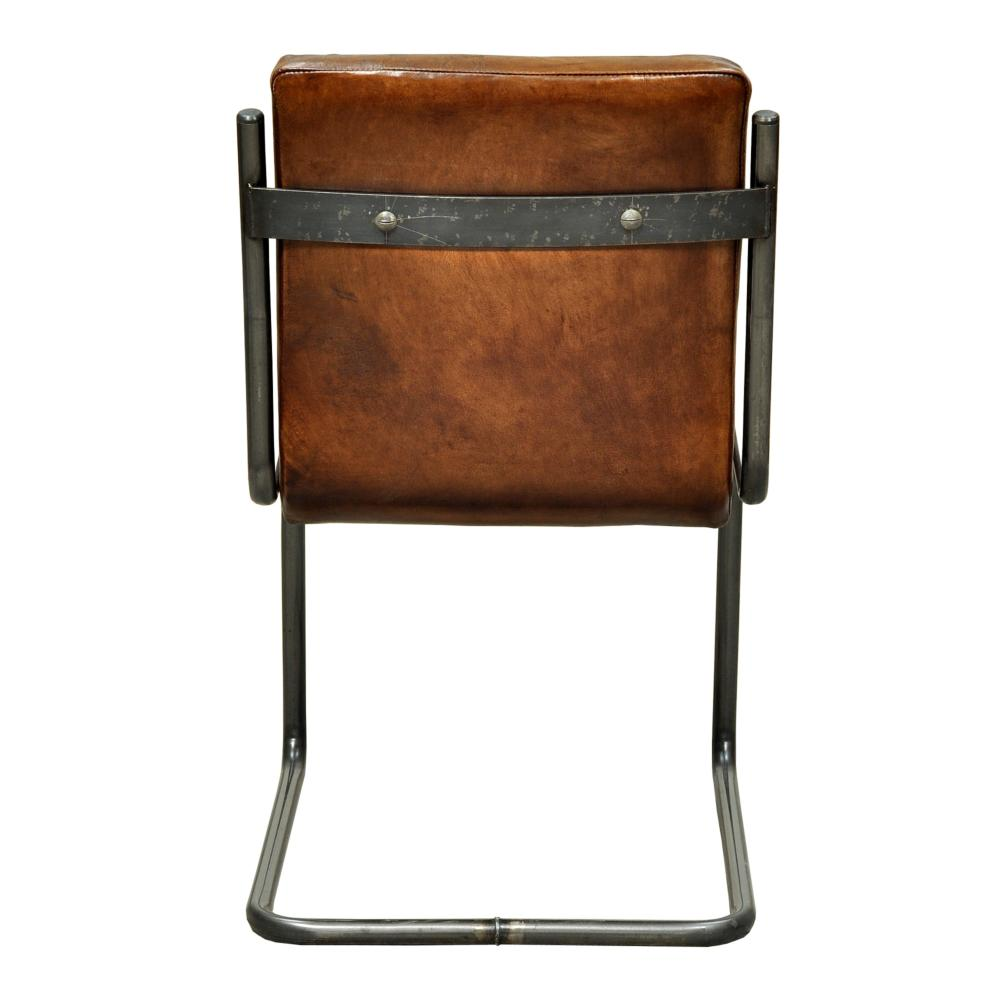 leather side chairs. Carl Leather Side Chair Chairs -