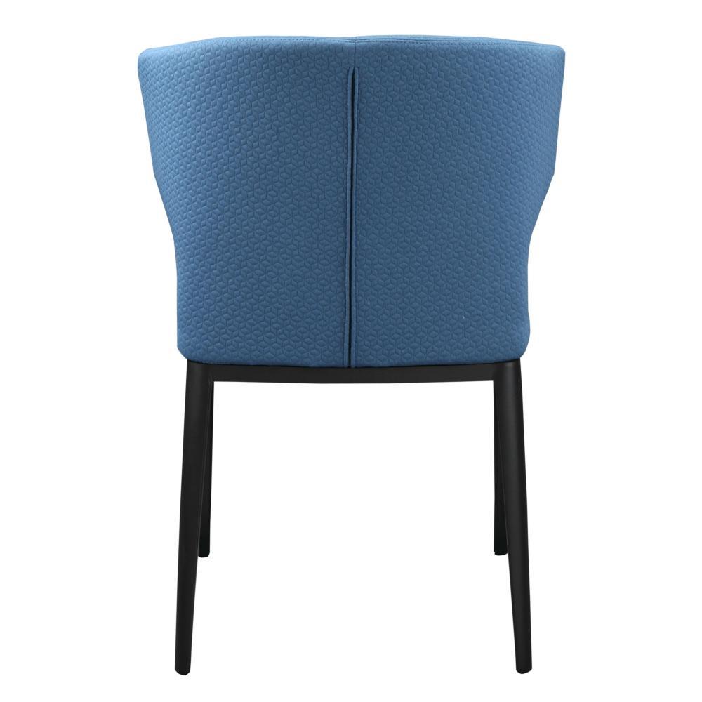 Delaney Side Chair Blue More Decor
