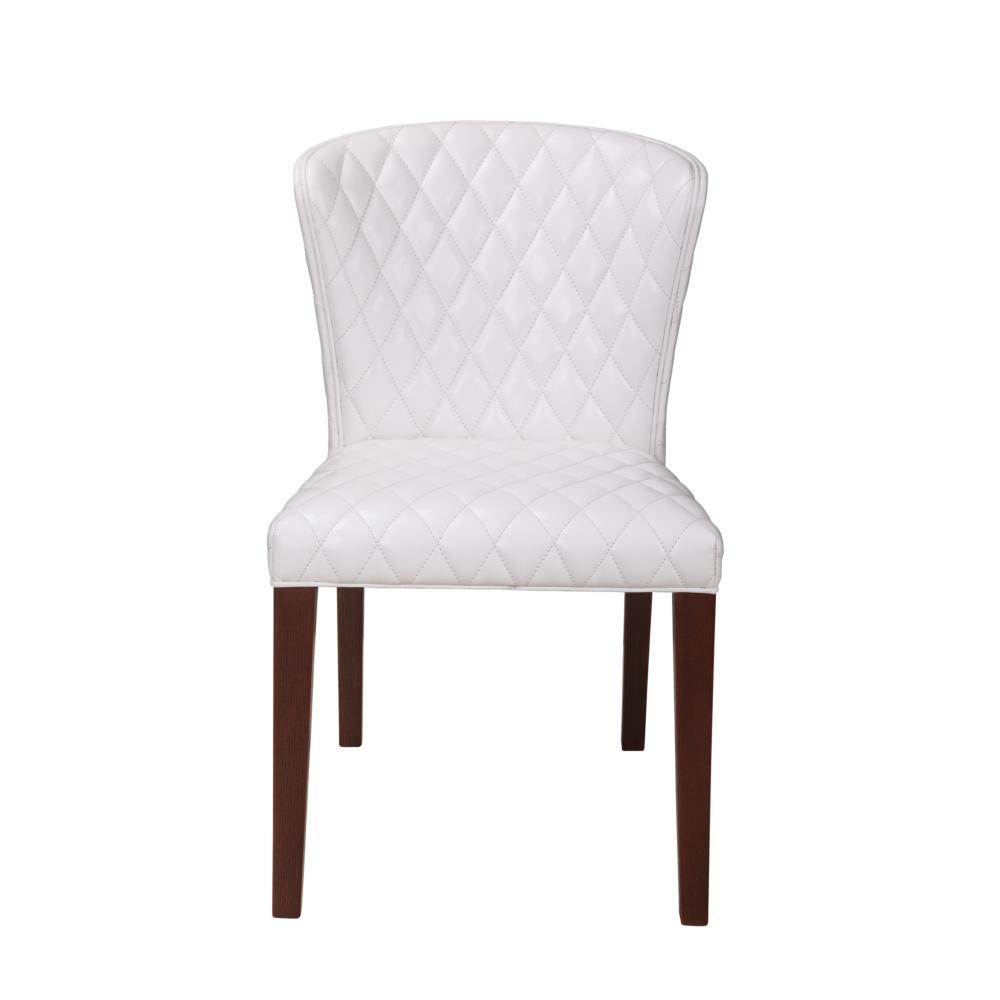 Zara Dining Chair White More Decor
