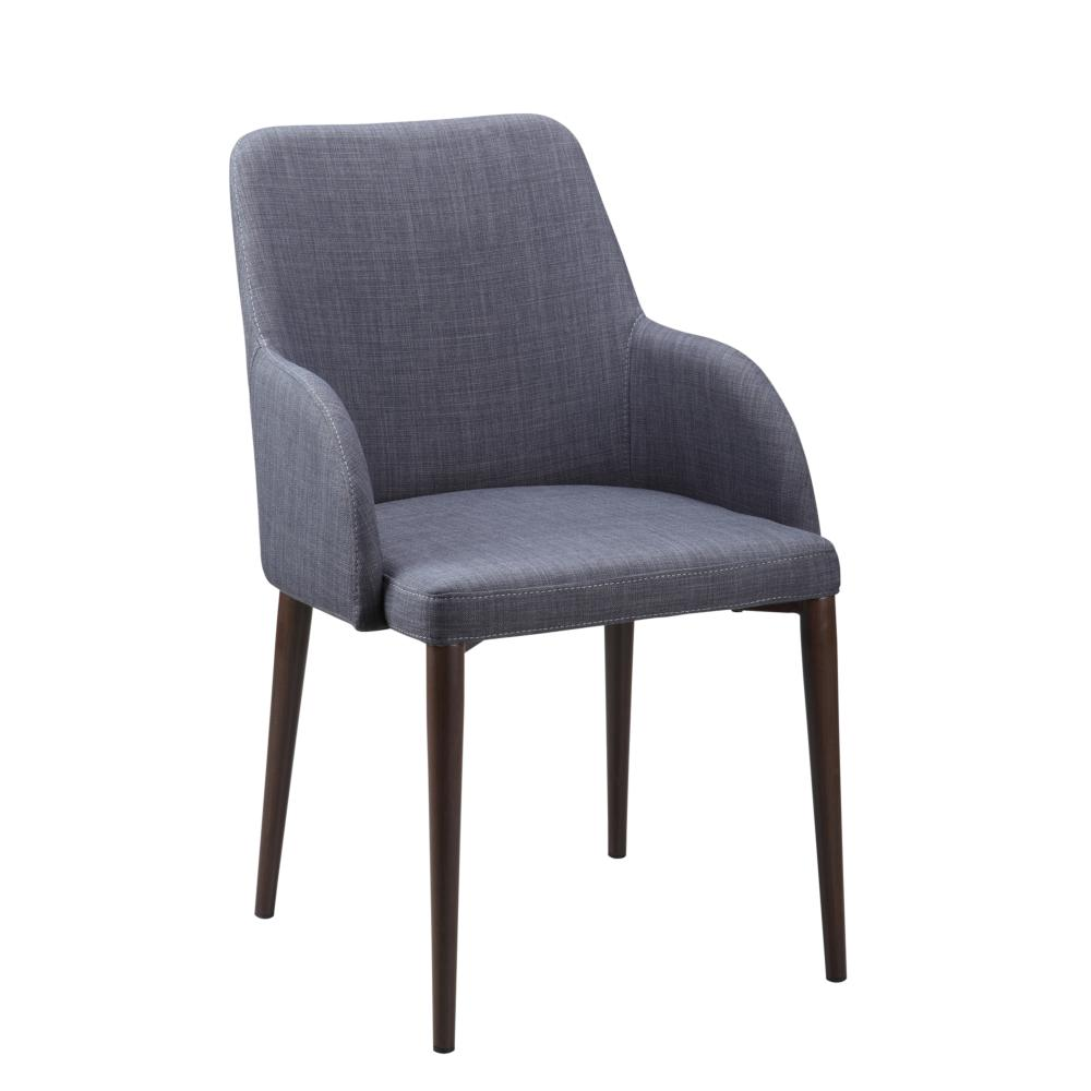 Tommy Arm Chair Dk Grey More Decor
