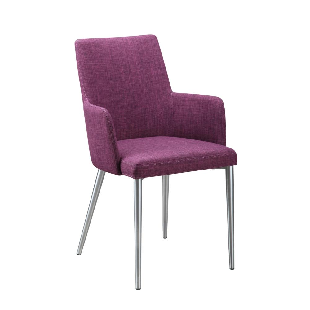 Chairs And More: Flavia Arm Chair Purple