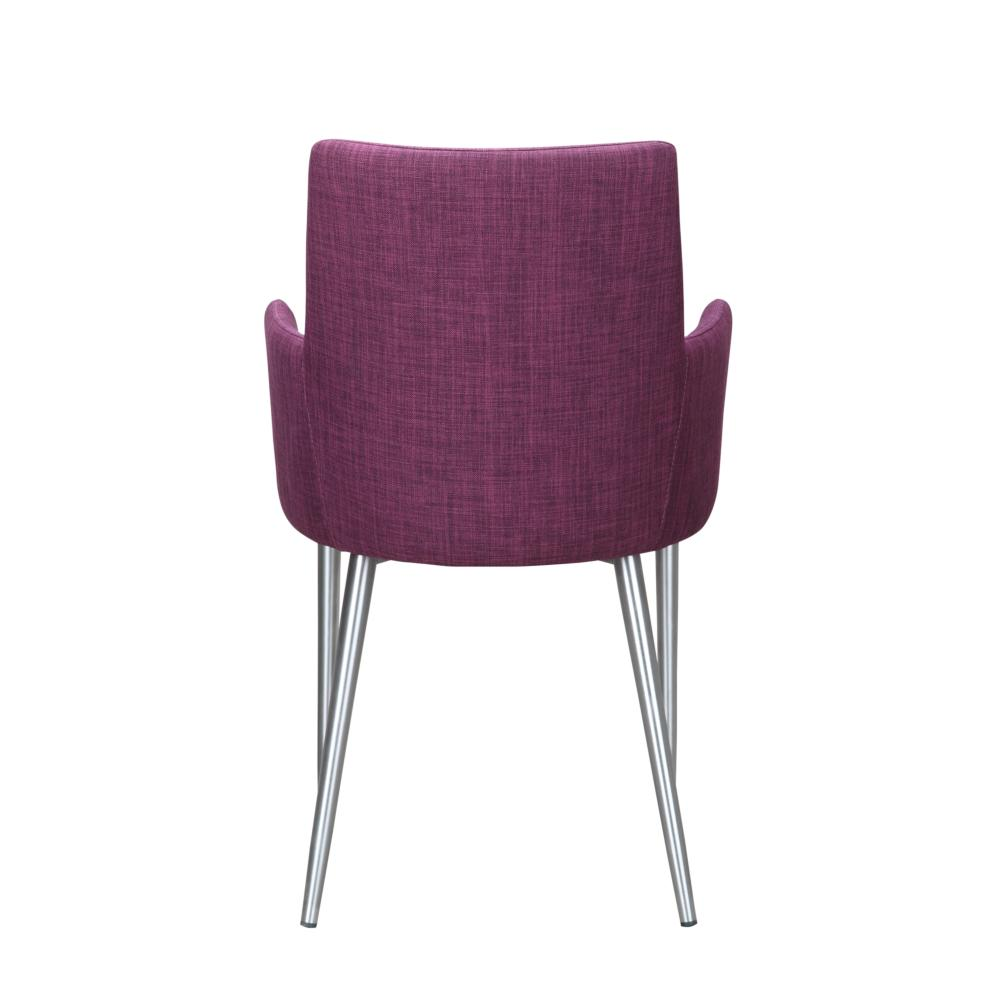 Flavia Arm Chair Purple More Decor