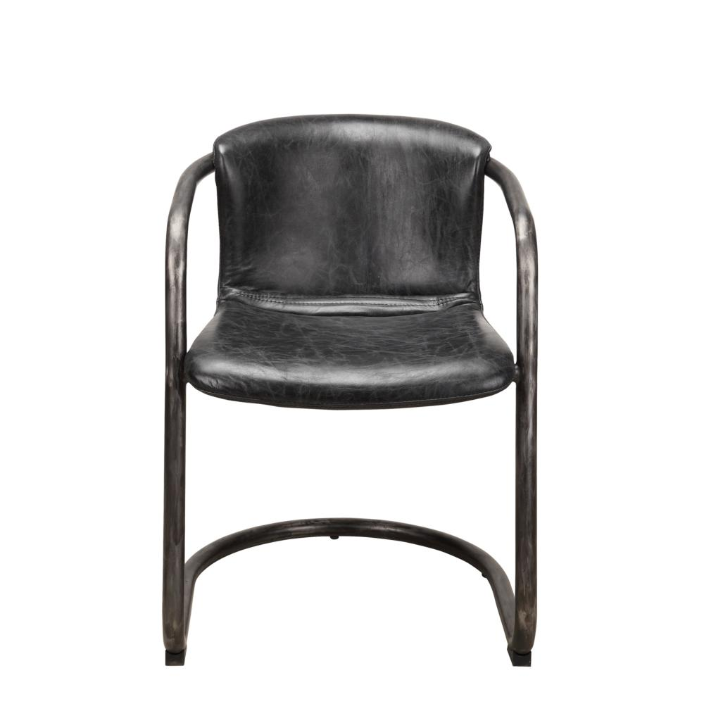 Dining Chair - Freeman Dining Chair Antique Black - More Decor