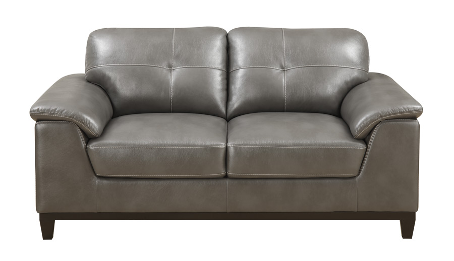Marquis Loveseat Grey More Decor