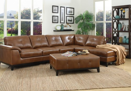 Marquis sectional five seats chestnut more decor for Lsf home designs furniture