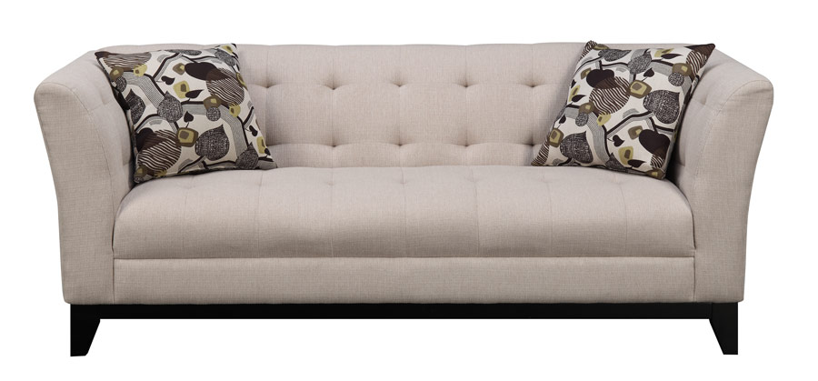 Marion sofa cream more decor for Abanos furniture industries decoration llc