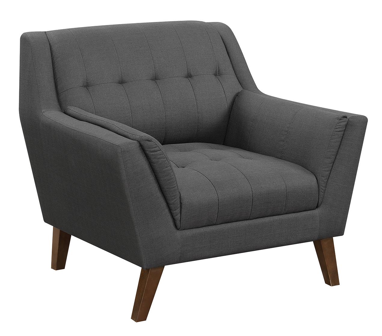 Binetti Accent Chair Charcoal