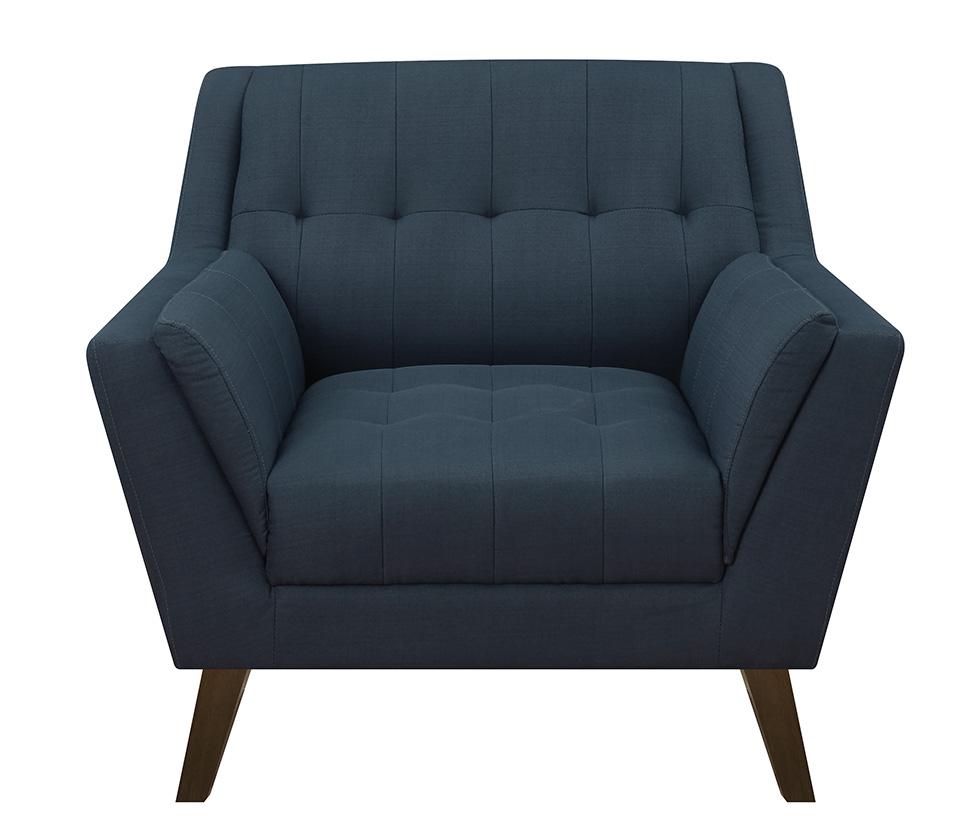 Binetti Accent Chair Navy More Decor